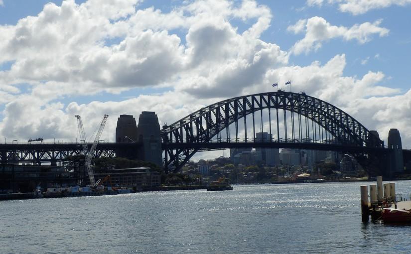 シドニー市内を徒歩で散策!オペラハウスもロックスも徒歩で行けます!