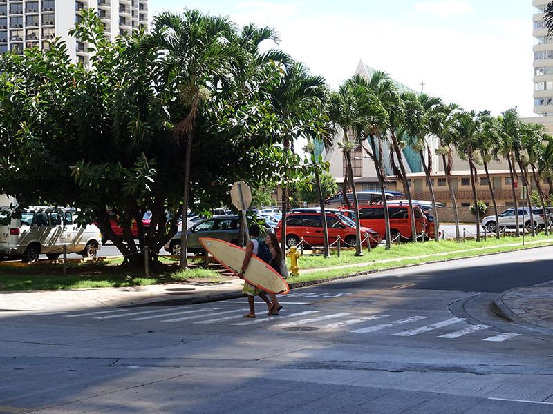 ハワイの街並