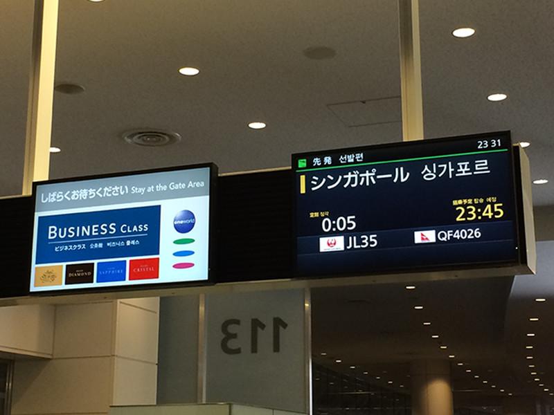 第1回シンガポール旅行記〜JL146&JL35搭乗記!セントレア-羽田-シンガポールの旅