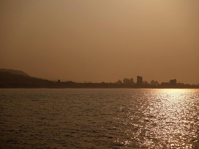 淡水の夕陽