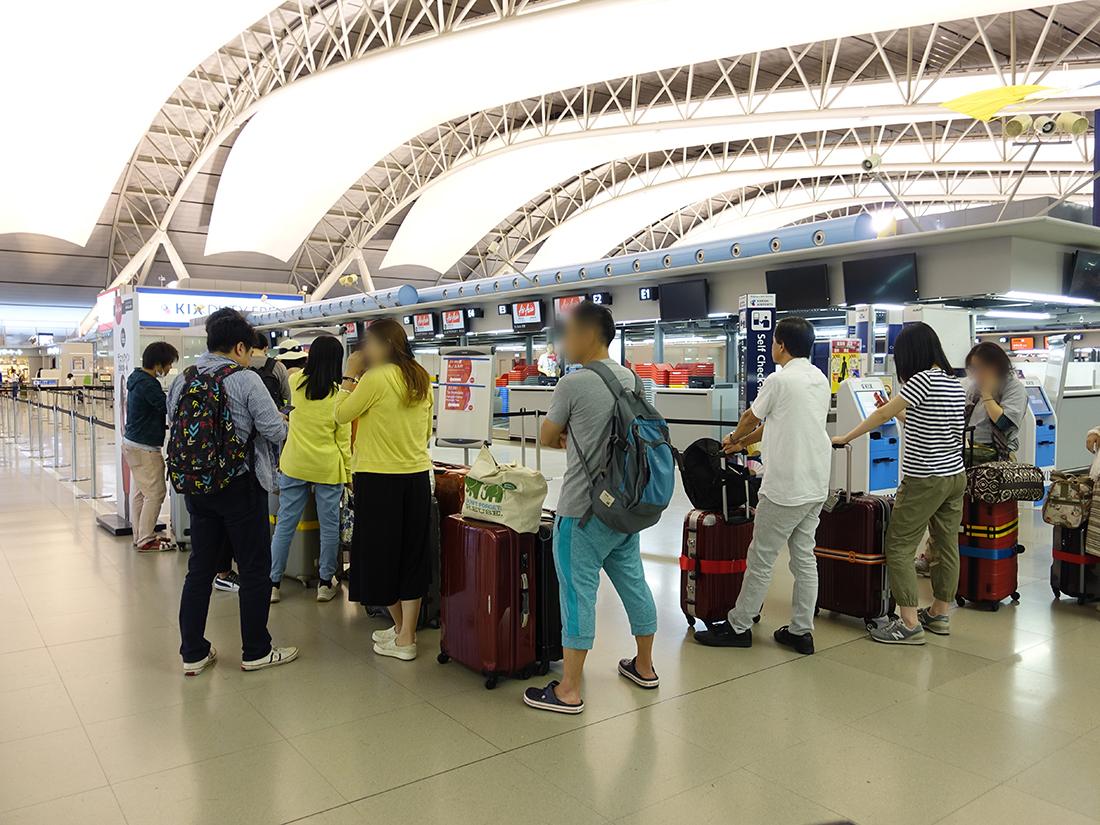 エアアジア関空カウンター