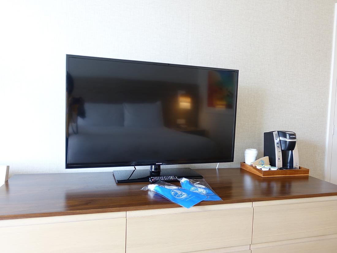 パシフィックビーチホテルテレビ