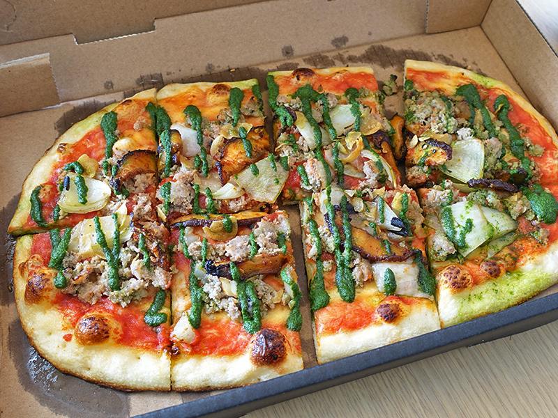 フラットブレッドピザ
