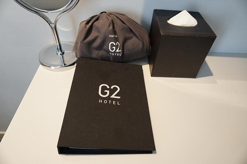 G2ホテルベッドルーム