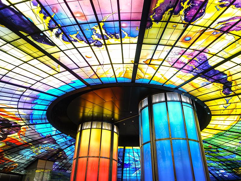 美麗島駅光のドーム