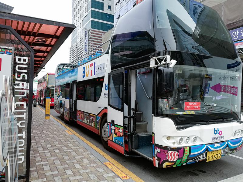 釜山シティーツアーバス